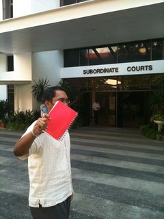 Lodging a magistrate's complaint