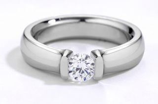 Solitair-diamond-ring