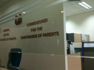 Maintenance of Parents
