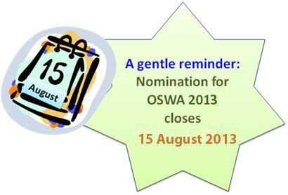 OSWA - Blurb